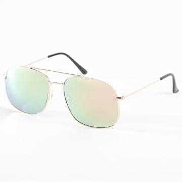 Classic Series - Lunettes De Soleil 016553 Vert Doré