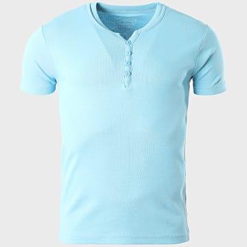 La Maison Blaggio - Tee Shirt Theo Bleu Clair