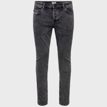 Only And Sons - Jean Slim Loom Life 22016744 Gris