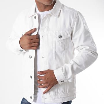 Produkt - Veste Jean AKM Bright Blanc