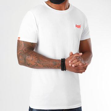 Superdry - Tee Shirt OL Neon Lite M1010026A Blanc