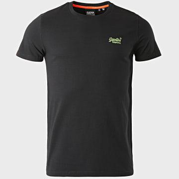 Superdry - Tee Shirt OL Neon Lite M1010026A Noir
