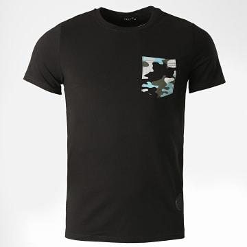 Zelys Paris - Tee Shirt Poche Pocket Noir