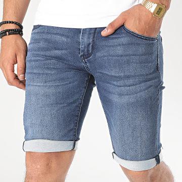 KZR - Short Jean TH37675 Bleu Denim