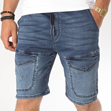 KZR - Short Jean TH37686 Bleu Denim