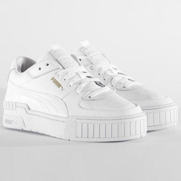 Puma - Baskets Femme Cali Sport 373871 White