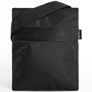 Calvin Klein - Sacoche Nastro Logo Flat 5671 Noir