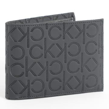 Calvin Klein - Portefeuille Monogram Blend 5CC 5714 Noir