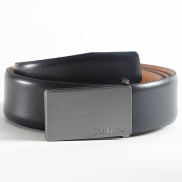Calvin Klein - Ceinture Adjustable Metal Plaque 5749 Noir