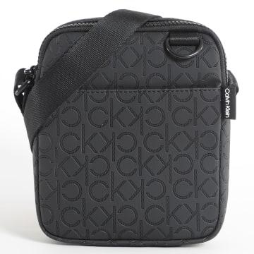 Calvin Klein - Sacoche Monogram Blend Mini Reporter 5774 Noir