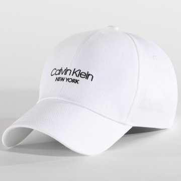 Calvin Klein - Casquette CK New York BB 5796 Blanc