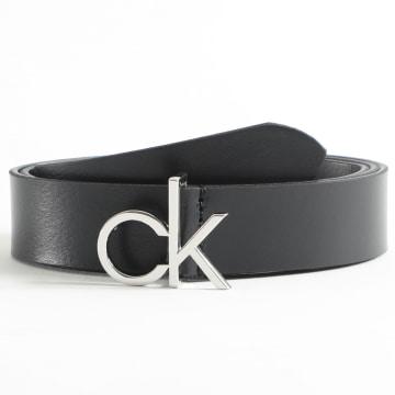 Calvin Klein - Ceinture Femme CK Low Fix 6716 Noir
