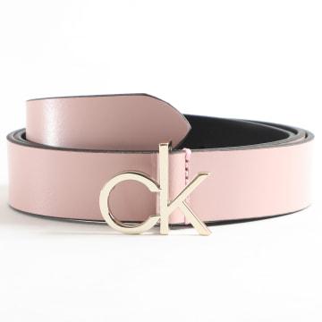 Calvin Klein - Ceinture Femme CK Low Fix 6716 Rose