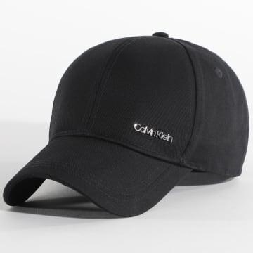 Calvin Klein - Casquette Metal Letter BB 6828 Noir