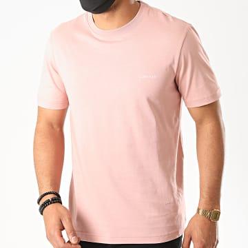 Calvin Klein - Tee Shirt Cotton Chest Logo 3307 Rose