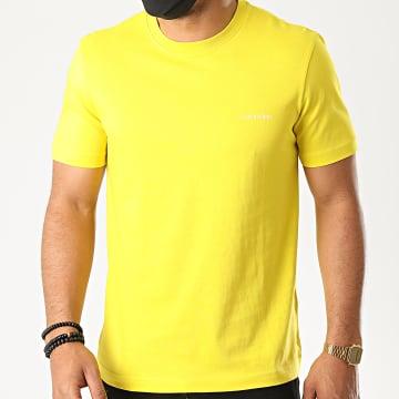 Calvin Klein - Tee Shirt Cotton Chest Logo 3307 Jaune
