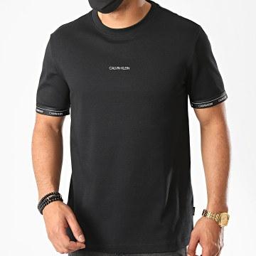 Calvin Klein - Tee Shirt Logo Cuff 5573 Noir