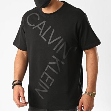 Calvin Klein - Tee Shirt Bold Logo Relax 5578 Noir
