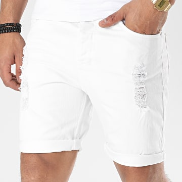 Classic Series - Short Jean H8521Z61463K Blanc