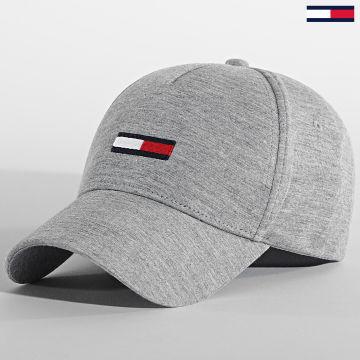 Tommy Jeans - Casquette Flag Cap 6269 Gris Chiné