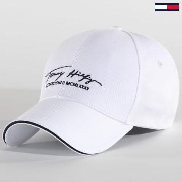 Tommy Hilfiger - Casquette Signature 6281 Blanc