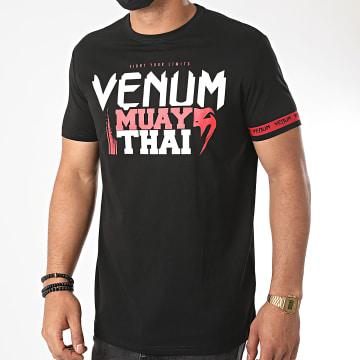 Venum - Tee Shirt Muay Thai Classic 20 03856 Noir