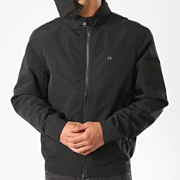 Calvin Klein - Veste Zippée Casual Nylon Blouson 5607 Noir