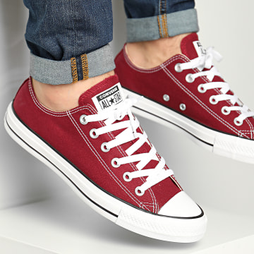 Converse - Baskets Classic Low Top M9691 Maroon