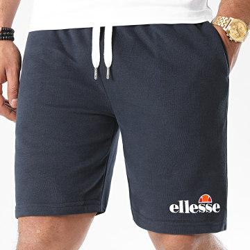 Ellesse - Short Jogging Silvan Fleece SHF09162 Bleu Marine