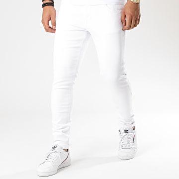 KZR - Jean Skinny DM007 Blanc