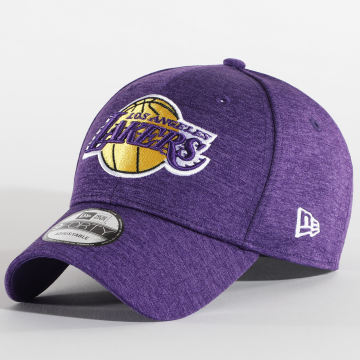 New Era - Casquette 9Forty Los Angeles Lakers Shadow Tech 940 12380821 Violet Chiné