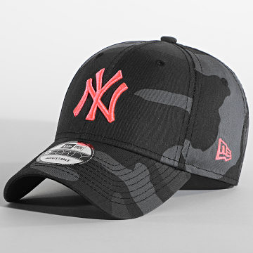 New Era - Casquette Camouflage 9Forty New York Yankees Essential 940 12381203 Gris Anthracite