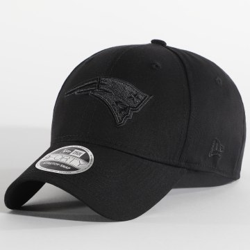 New Era - Casquette Black On Black 9Forty New England Patriots 12381210 Noir
