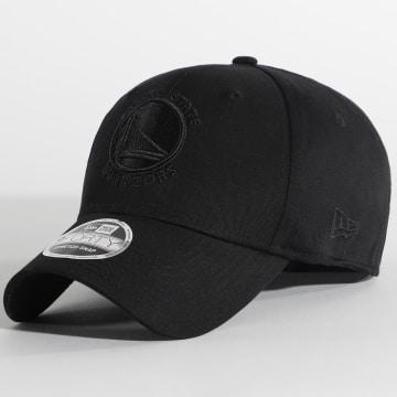 New Era - Casquette Black On Black 9Forty Golden State Warriors 12381213 Noir