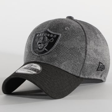 New Era - Casquette Fitted 39Thirty Oakland Raiders 12381155 Gris Chiné Gris Anthracite Camouflage