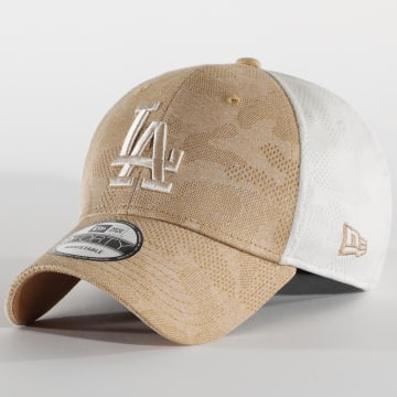 New Era - Casquette Engineered Plus 9Forty Los Angeles Lakers 12381150 Beige Ecru Camouflage