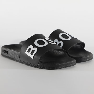 BOSS - Claquettes Bay 50425152 Noir