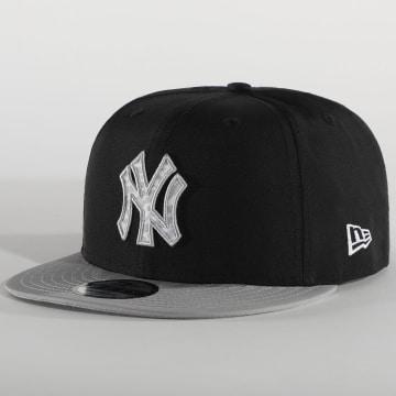 New Era - Casquette Snapback Team 9Fifty New York Yankees 12380805 Noir Gris
