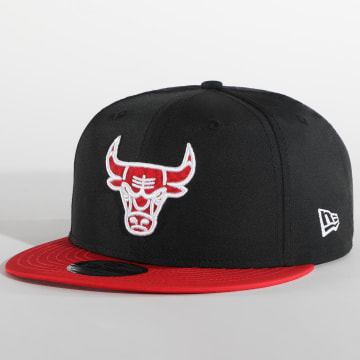 New Era - Casquette Snapback Team 9Fifty Chicago Bulls 12380807 Noir Rouge