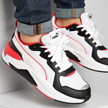 Puma - Baskets X-Ray 372602 White Black Red Silver