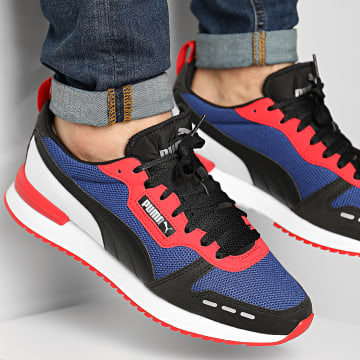 Puma - Baskets R78 373117 Limoges Black High Risk Red