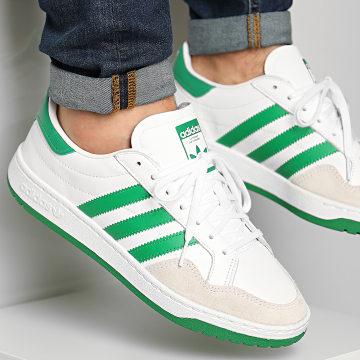 Adidas Originals - Baskets Team Court EF6052 Footwear White Green Core Black