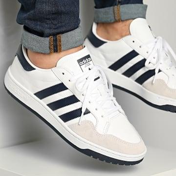 Adidas Originals - Baskets Team Court EF6054 Footwear White Collegiate Navy Core Black