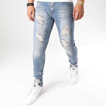 Black Needle - Jean Skinny 3039 Bleu Denim