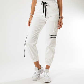 Girls Only - Jogger Pant Femme 610-5 Blanc