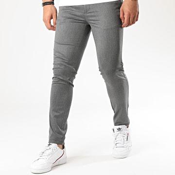 Mackten - Pantalon 28007 Gris Chiné