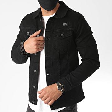 Mackten - Veste Jean 563 Noir
