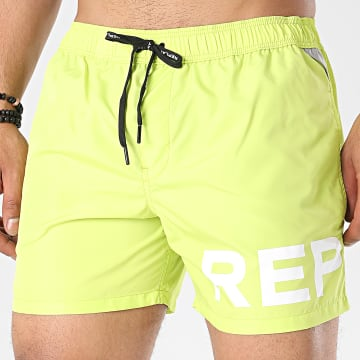 Replay - Short De Bain LM1068-82972 Vert Clair