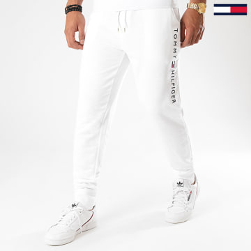 Tommy Hilfiger - Pantalon Jogging Track 1185 Blanc Chiné