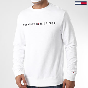Tommy Hilfiger - Sweat Crewneck Track 1209 Blanc